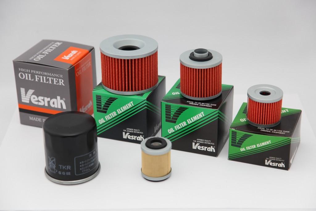filtry oleju vesrah